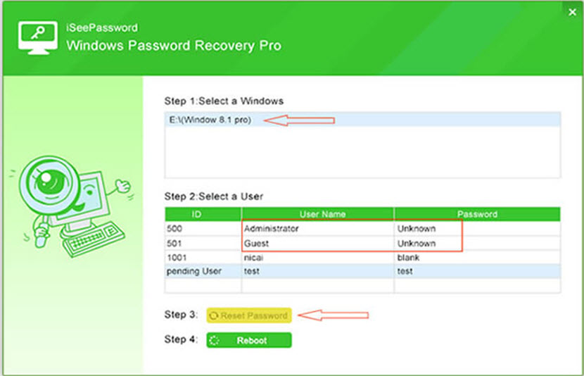 disable windows 8 login password
