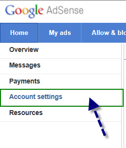 how to change adsense users