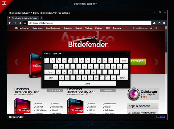 New Bitdefender Safepay to safeguard your online transactions