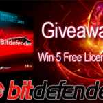 [Again Nov 2013] Giveaway: 5 Licenses of Bitdefender Total Security