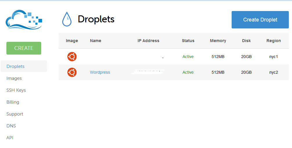 droplet overview