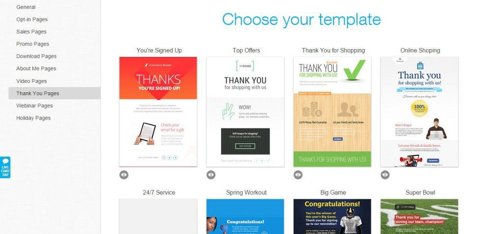 GetResponse Template Collection