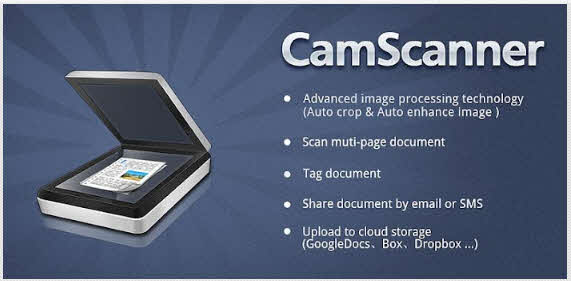 cam scanner to scan the documents