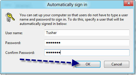 turn off password after sleep windows 7