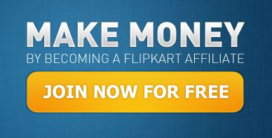 Make Money by becoming a Flipkart Affiliate