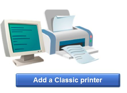 Add printer to google cloud service