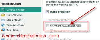 things to do immedialty after installing kaspersky
